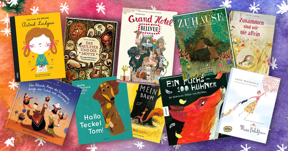 10 Libros en Alemán Para Niños de 2 a 9 Años